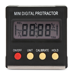 360 Degree Mini Digital Protractor Inclinometer Electronic Level Box Magnetic Base Measuring Tools Level Box Angle Gauge Meter