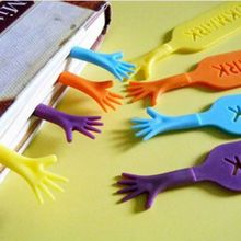 1set4pcs plastic crafts supply factory book mark help me novelty bookmark funny bookworm gift stationery random color - Colored People Book