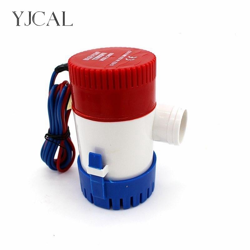 Mini Electric Bilge Pump 12v 1100gph Rule Water Fountain Pump Used In Boat Seaplane Motor Homes Houseboat