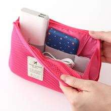Organizer System Kit Case Storage Bag Digital Gadget Devices USB Cable Earphone Pen Travel Insert Portable Digital Storage Bag