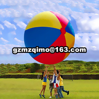 Giant Inflatable Colorful Toys Ball Inflated Beach Balls Outdoor Fun Sport Toys Summer Holiday Swimming