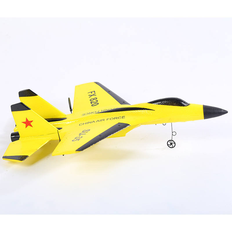 где купить Super cool RC fighter SU-35 Fixed Wing RC glider FX-820 2.4g EPP Remote Control Aircraft Model RC Plane vs F939 K949 дешево