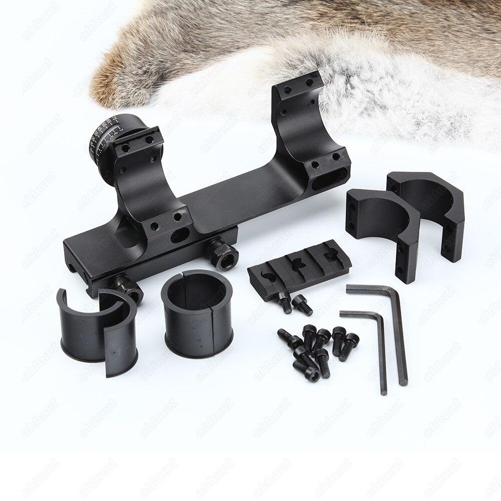 montagem anéis para visão óptica caça