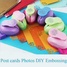 Embossing DIY Corner Paper Printing Card Cutter Scrapbook Shaper large Embossing device Hole Punch Kids Handmade Craft gift цена