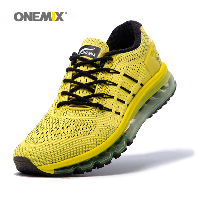 Onemix men's running shoes cool light breathable sport