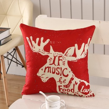 1Pcs 45x45cm Pillow Case Merry Christmas Decorations For Home 5