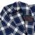 Avidlove Vestes Homens Mistura de Algodão Roupão xadrez Sleepwear Longo com Bolsos