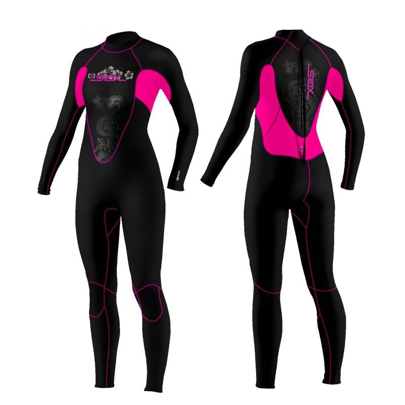 f606ba54ddb Online Shop 3mm Women s Neoprene Wetsuits Full Body Diving Suit Snorkeling  3MM Warm Diving Suit Wetsuit