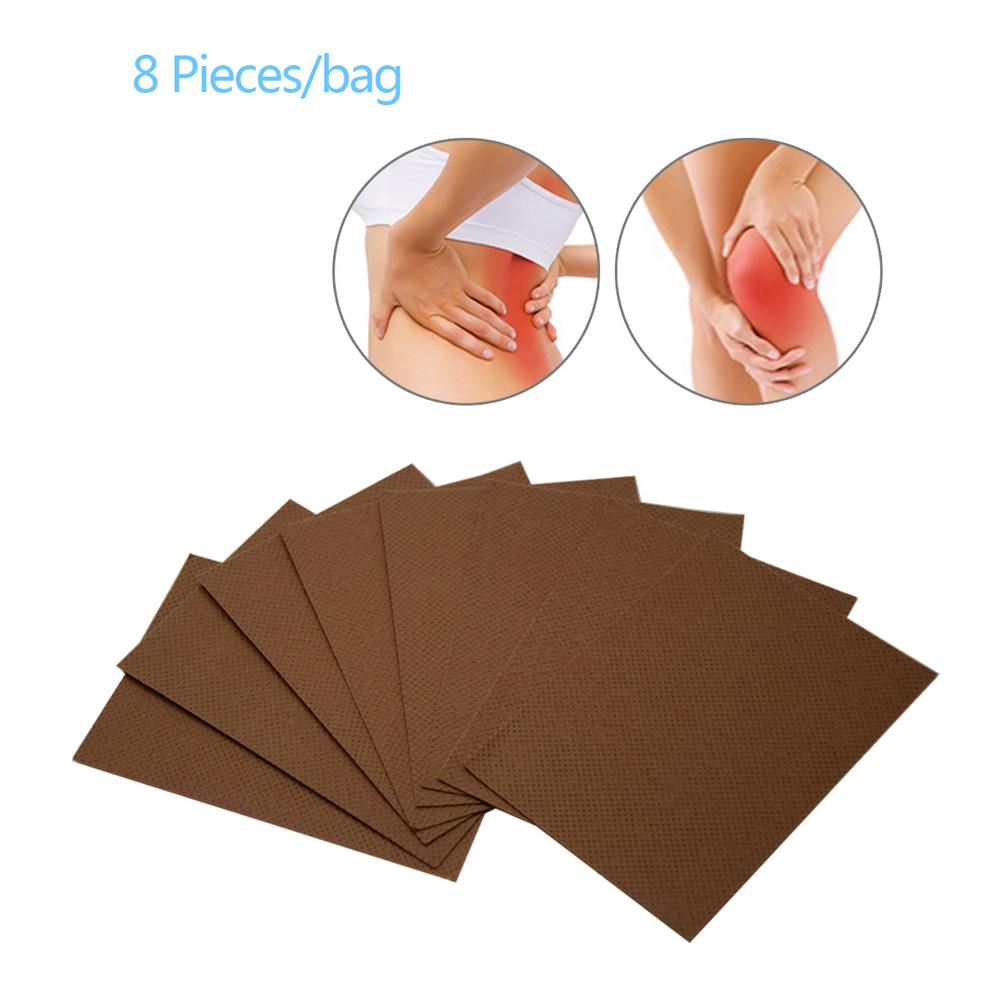 Sumifun 8Pcs Vietnam Red Tiger Balm Pain Patch Chinese Herbal Medical Plaster Back Muscle Joints Plaster C075 in Patches from Beauty Health