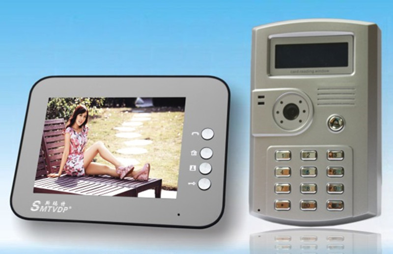 8 Inch Digital TFT LCD Monitor Intercom Video Door Phone