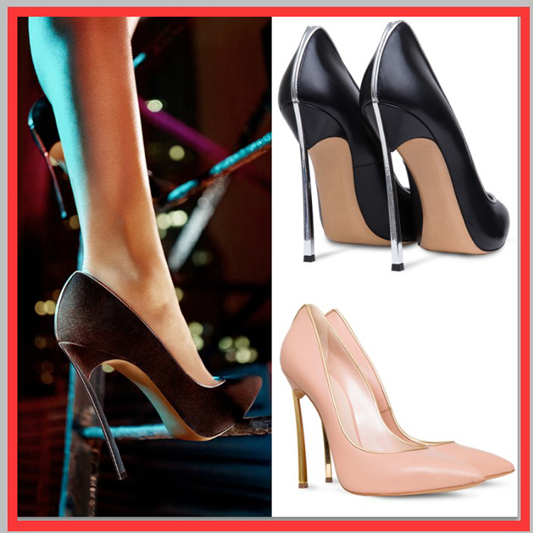 2015 New Brand Women's Pumps Pointed Toe Thin Heels High Heels Shoes Woman Elegant Single Shoes Genuine Leather Office Shoes
