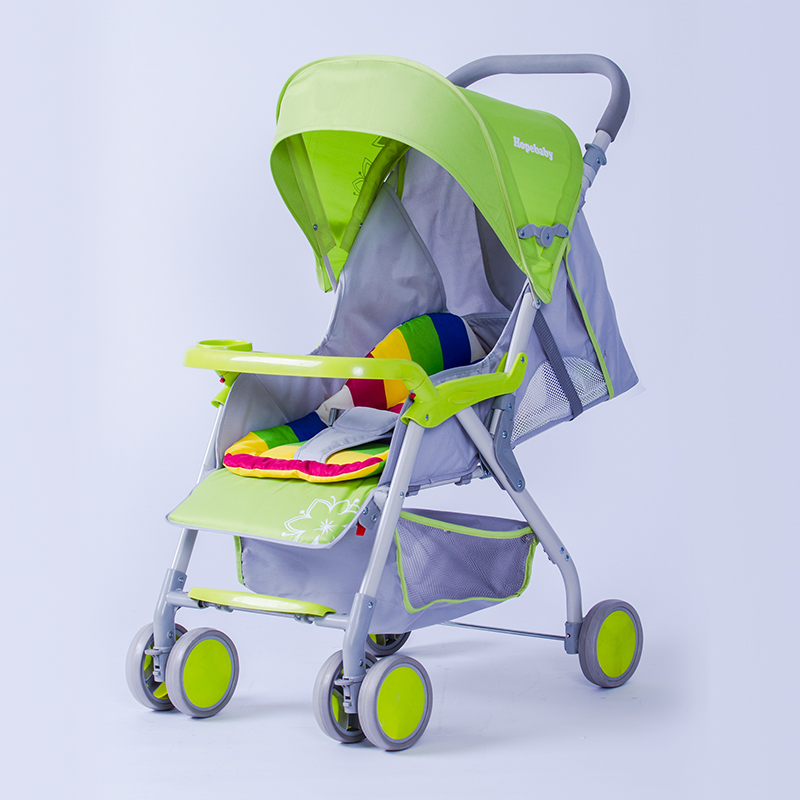 Hebao 715 light umbrella car baby trolley can lie on the four wheel folding cart. sometimes i lie