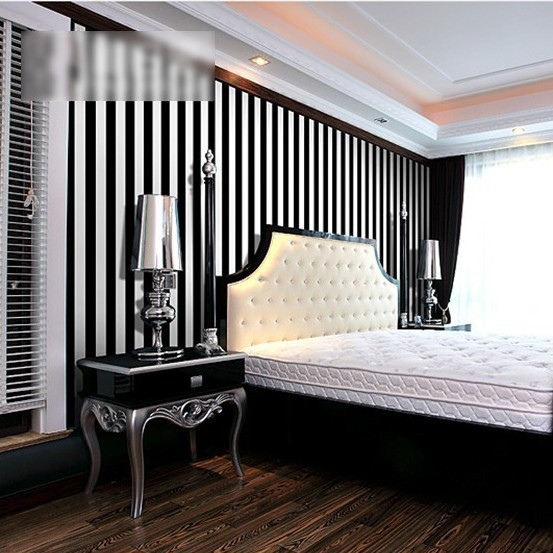 Decorating With Stripes For A Stylish Room: Decorative Wallpaper Stripes