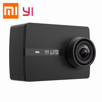 Xiaomi Yi Lite Action Camera 16MP 4K Sports Camera 2 inch LCD Touch Screen 150 Wide Angle Lens EIS Black Outdoor Travel Cameras
