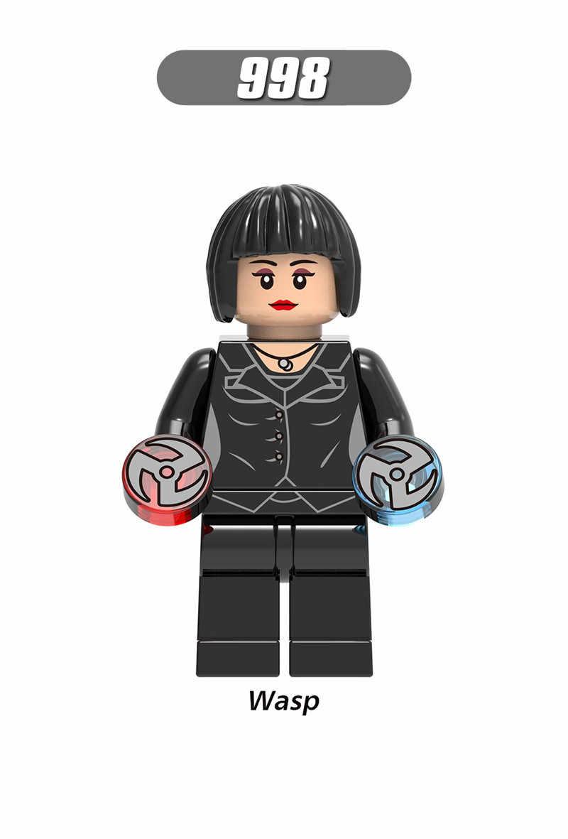 סופר גיבור נוקמי נמלה איש דמות לואיס צרעה האנק פים גוליית ביל לטפח Antman לבני אבן בניין ערכות צעצועים