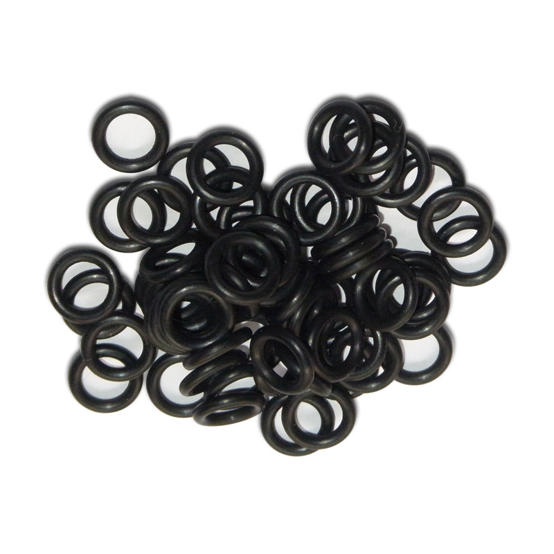 New Paintball Air Gun Airsoft PCP Air Rifle AS568-010 O-Ring 50PCS CO2/HPA/AIR For 8MM Quick Disconnect (BLACK) Free Shipping