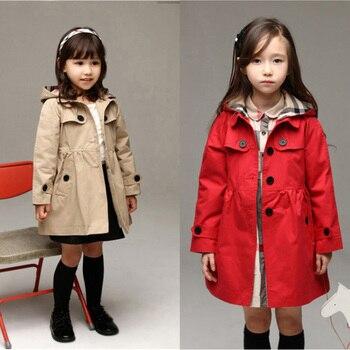 Girls Windbreaker 2019 New Girls Spring and Autumn Coat Children's Wear 3 Girls 4 Baby 5 Spring Cardigan 8 Windbreaker