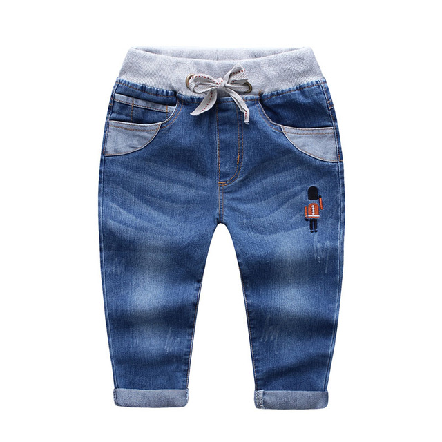 Arrival Autumn fashion baby boys jeans children's pants blue kids trousers child clothing Kids Casual Long Pants Free shipping