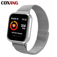 COXNAG P70 Smart Watch 1.3 inch IPS Color Screen IP68 Professional Waterproof Blood Pressure Fitness Hours For Android IOS Apple