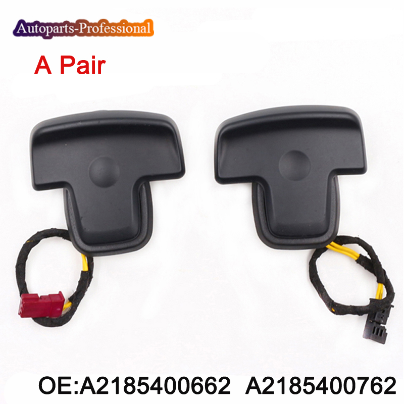 цена на A Pair Steering Wheel Paddle Shifter Switch A2185400662 & A2185400762 For Mercedes Benz car accessories