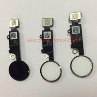 10Pcs Lot Free DHL Original New Home Menu Button Flex Cable Assembly For IPhone 8G 8
