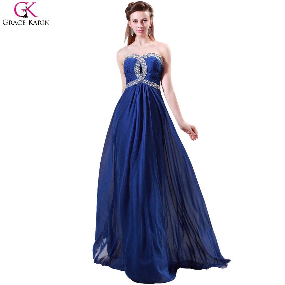 Vestidos de noche color azul turquesa - Grace Karin Azul Turquesa Rosa Vestidos De Noche Criss Cross Gasa Largo Vestido De Noche