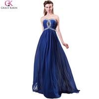 Grace karin turquoise xanh rose evening dresses criss-cross voan dài evening gown bữa ăn tối chính thức dress prom đảng gowns 4413