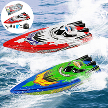 Rc-Racing-Toy Remote-Control Children Boat Motor Radio High-Speed Kid Gift Christmas-Gift