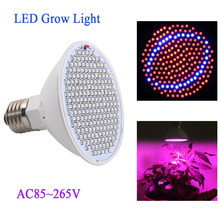 20W LED Plant Grow Light Lamp E27 AC85-265V 166Red+34Blue LED Lights For Flower Plant and Hydroponics System For Indoor Grow Box(China)