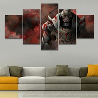 Canvas Painting Home Decor Wall Art Frame 5 Piece Anime FullMetal Alchemist Alphonse Elric Picture For