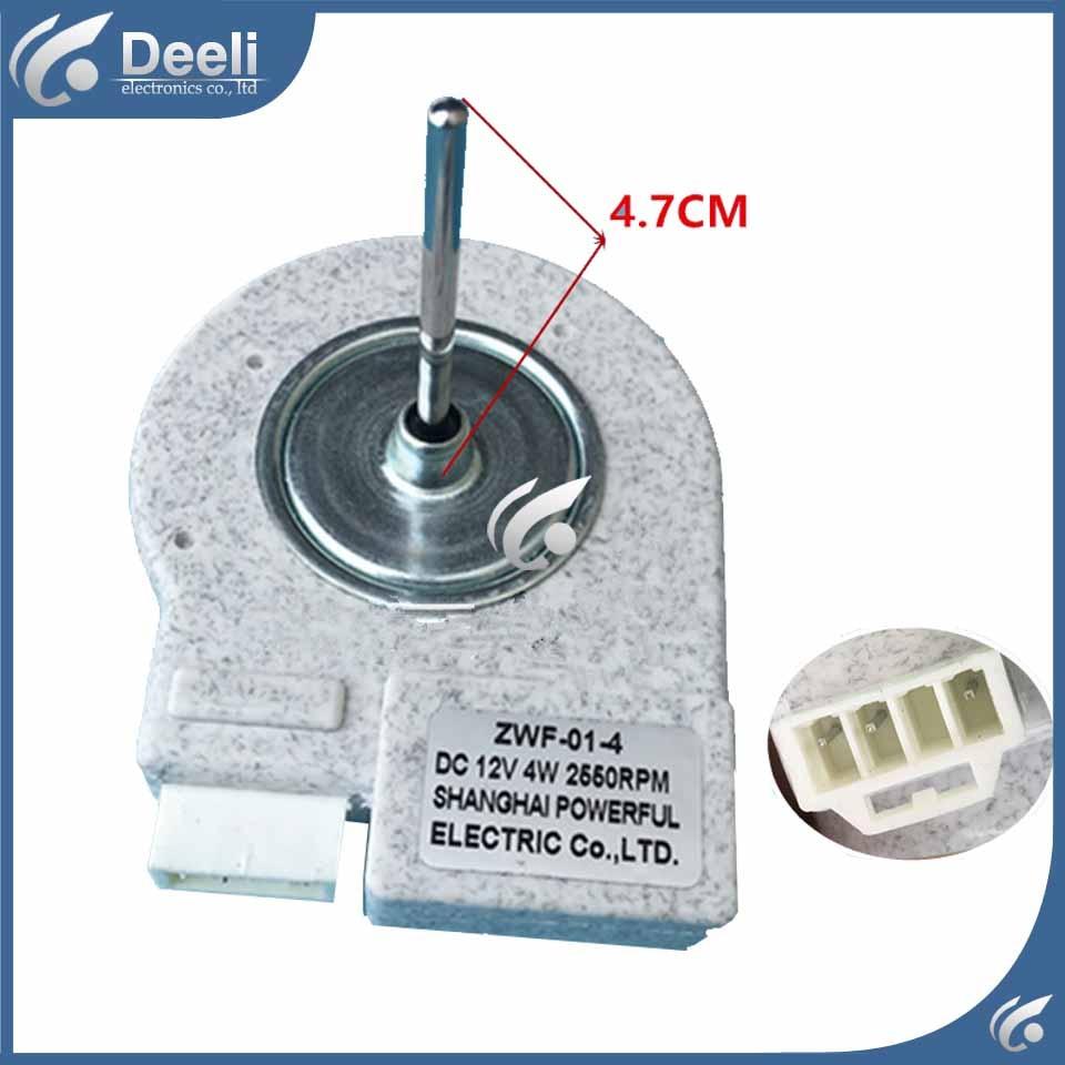 NEW good working for refrigerator fan motor motor ZWF-01-4 DC12V