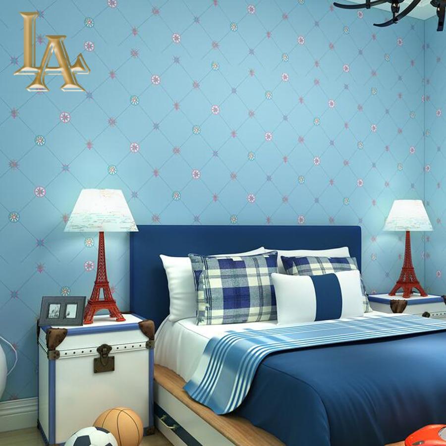 Toko Online Biru Mediterania Modern Wallpaper Untuk Dinding Kamar