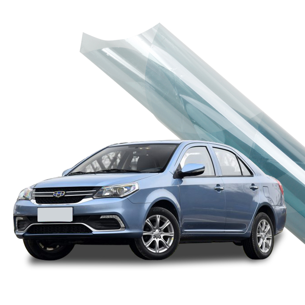 75% VLT Car Front Tint Solar Film! Light Blue 50x300cm roll Side Front Windshield Workable