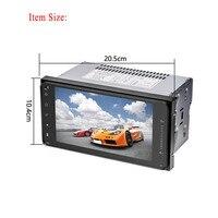 7 Full HD touch автомобиля радио GPS навигации 2 DIN MP5/DVD плеер WI FI Авторадио Автозвук Bluetooth мультимедийный плеер Дисплей