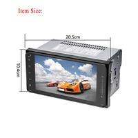 7 HD Full Touch Car Radio GPS Navigation 2 Din MP5/DVD Player WIFI Autoradio Car Audio Bluetooth Multimedia Player Display