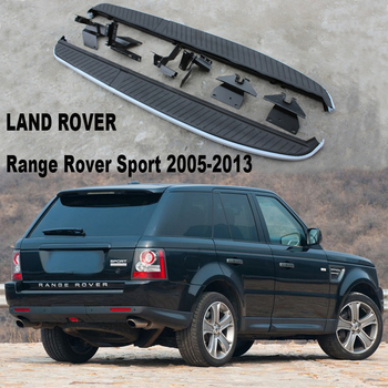 For LAND ROVER Range Rover Sport 2005-2013 Car Running Boards Auto Side Step Bar Pedals Brand New Original Models Nerf Bars