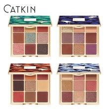 Catkin 9 색 14.4g 영원한 사랑 계절 아이섀도 반짝이 쉬머 무광택 메탈릭 자연 특수 중국 스타일 뜨거운 판매