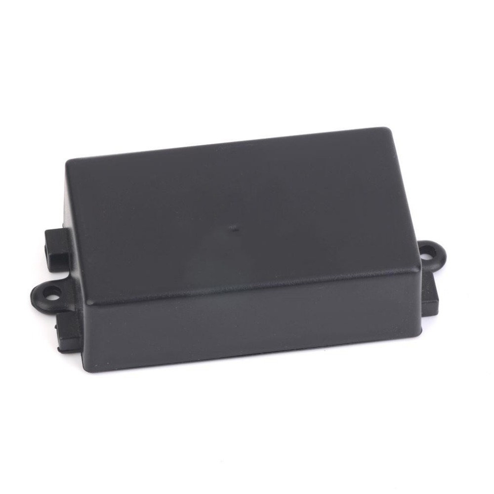 65 x 38 x 22mm Plastic Enclosure Terminal Box for Electronic Circuit Black
