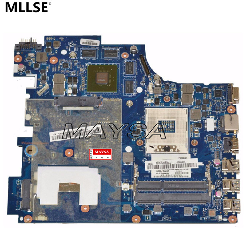 QIWG7 LA-7983P DDR3 USB3.0 Main board fit for Lenovo G780 Series Laptop Motherboard HM76 tested 100% tested for washing machines board xqsb50 0528 xqsb52 528 xqsb55 0528 0034000808d motherboard on sale