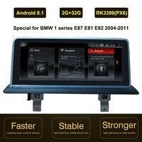 10.25 inch IPS Screen Android 8.1 Car GPS Navigation for BMW 1 series E87 E88 E81 E82 2004 2011