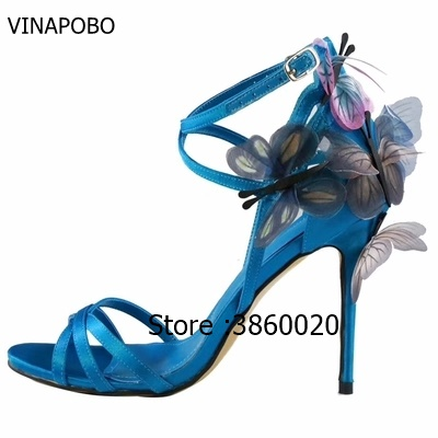 Picture Talons Sandales Designer Papillon The as Chaussures As 2018 Piste Rêveur Doux Picture Hot Femme Haute Summer Gladiateur Mince Spring Parti nOOT8Rzwq7