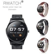 RWATCH R11 Reloj Inteligente Regulador Alejado Infrarrojo Del Ritmo Cardíaco Llamadas/SMS Monitor de Sueño Recordatorio Sedentario smartwatch para el teléfono