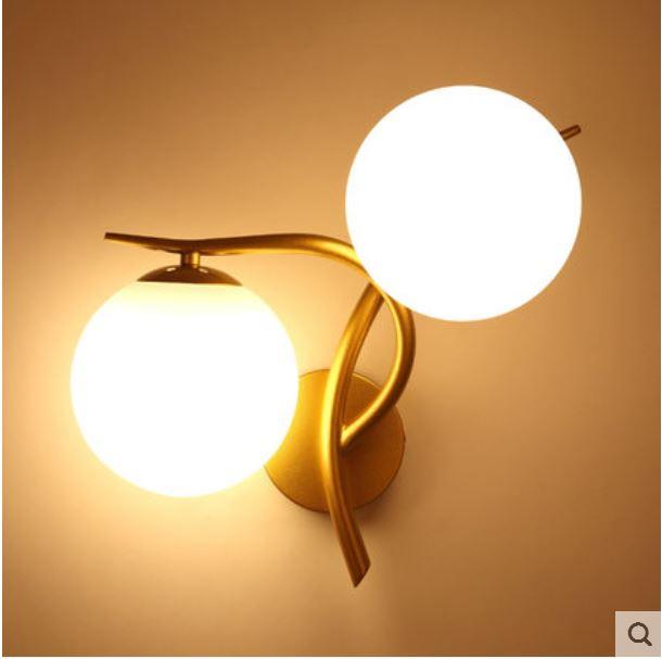 European wall lamp living room lamp personality creative bedroom bedside lamp home simple study lamp aisle corridor