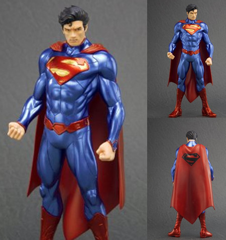 NEW hot 18cm Justice league superman action figure toys collection <font><b>doll</b></font> Christmas gift with box