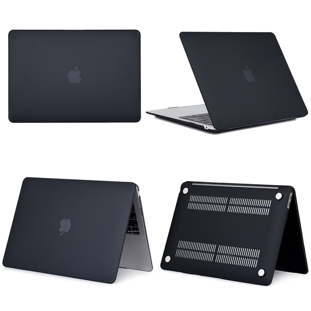 Black Hard Case For Macbook Air & Pro 4