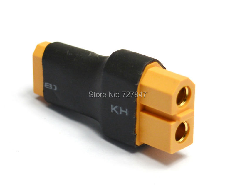 XT60 Female Convert to XT30 Male Connector Conversion Adapter Wireless Car Heli