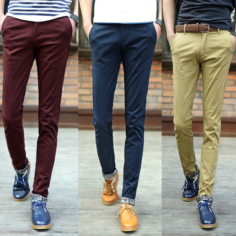 2015 spring summer mens trousers leisure fashion boy ...