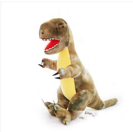 creative Tyrannosaurus rex plush toy simulation dinosaurs toy new gift doll about 80cm 0529 creative simulation plush soft fox naruto toy polyethylene