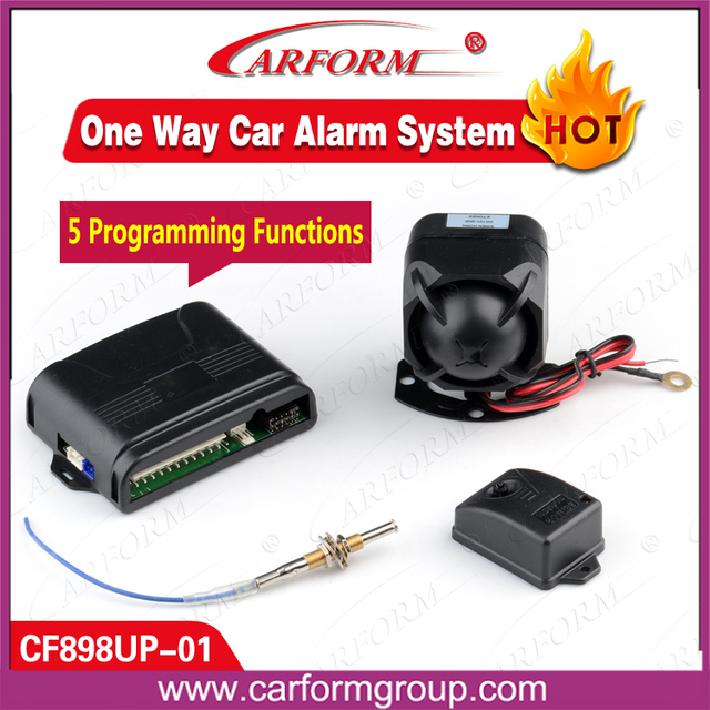 Upgrade Car Alarm System upgrade your original keyless system with alarm function