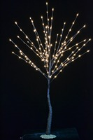 Free Shipping 2 Trees a Lot 52 Brown 160LED Willow Tree Light, Branch Tree Light or Twig Light with Base, Holiday Tree Light,